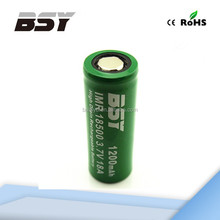 Hottest !!! High quality Baisiyu 18500 1200mah 3.7v Li-ion rechargeable battery BSY 18500 18amp1200mah battery battery pack