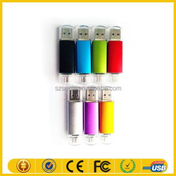 new products wholesale china factory 2gb 4gb 8gb 16gb 32gb 100% full capacity usb otg for mobile phone