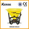 Tractor 500L 3 point fertilizer spreader with 4 disc