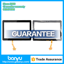 Pledge no dead pixel touch digitizer black color for samsung galaxy tab p5100 screen