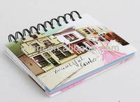 index spiral notebook