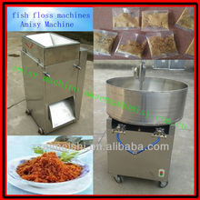 Multi-purpose fish meat wire drawing machine and fish floss rotary frying pan