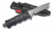 Best-Sell Rubber Handle Titanium Folding Hunting Knife, Folding Hunting Knife, Survival knife