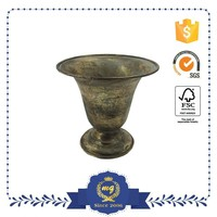 European Elegant Metal Flower Pot