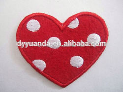 2015 new adhesive Clothing patches Fabric