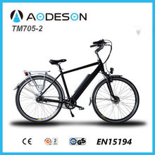Powerful and reliable e-Bike City Electric Bike/bicycle, ebike TM705-2 with hidden battery