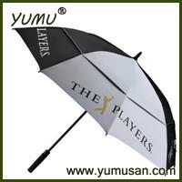 """30"""" Double Canopy Golf Umbrella, Race Car Umbrella"""