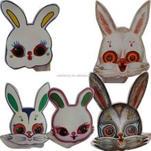 Alice in Wonderland rabbit head masquerade party mask QMAK-1568