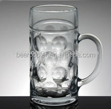 1L beer glass and its' coupler Event tap beer dispenser