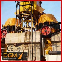Factory directly supply peat soil hydraulic crusher for quarry