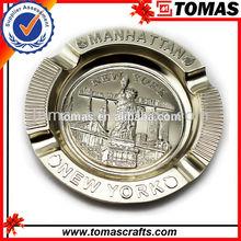 Logotipo personalizado de metal de placas