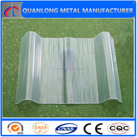 FRP clear roof tiles