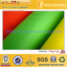 recycle 100% pp raw material spun bond polypropylene non-woven(15-260g)