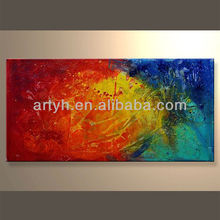 Newest Handmade Abstract Wall Art Reproduction In Discount Price