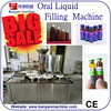 Factory price chemical use syrup capping filling machine/syrup filling machine