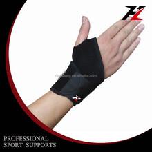 Gym equipment adjustable wrist brace, neoprene waterproof bowling wrist support