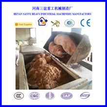 Factory supply waste animal burning facility