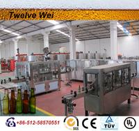 glass bottle beer 1L Beer filling machine