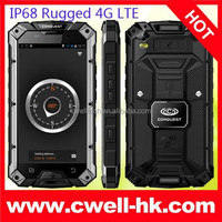 Conquest S6 IP68 Waterproof 5 Inch Screen Quad Core Rugged 4G Smartphone