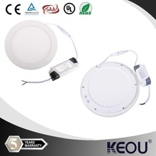 new model!!!good quality 18W round led panel light 3w 4w 6w 9w 12w 15w 18w 20w 24w led panel lights CE ROHS hot sale