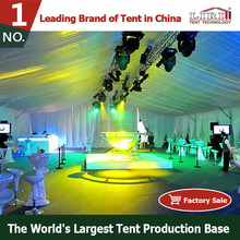 Temporary foldable tent for outdoor events with Clear Windows