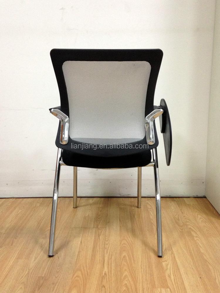 Training Room Chair With Writing Pad