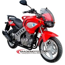 Gas 250cc Motorcycle, China Made Gas Motor Scooter (YY250-5A)