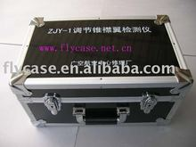 2012 new design USA style Aluminum instrument case with logo print and safe locks
