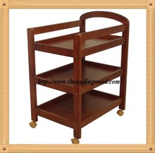 Best selling wooden baby change table