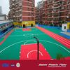 ourdoor and indoor Basketball Plastic Interlocking Court Flooring