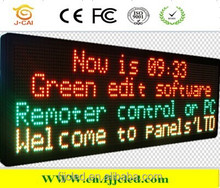 HOT SALE!!! Led moving message sign,Tri-color Electronic Information board