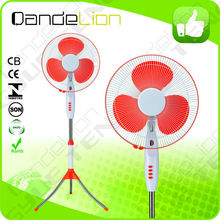 16 inch electric dc brushless motor stand fan With Remote Control ventilator pedestal