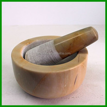 Manufacture stone mortar and pestle /cooking sets/kitchen utensil with best quality