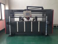 corrugated paper box carton stapling machine