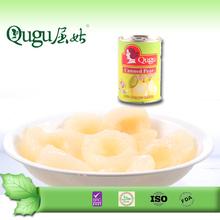 2500g mejor calidad al por mayor de pera en conserva en almíbar