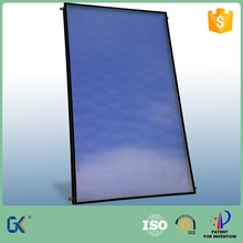80mm thick aluminum full plate blue selective coating laser welding 5 years guarantee flat plate solar collector