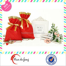 Small advertising drawstring gift bag making companies