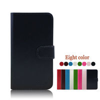 flip leather mobile phone case for alcatel one touch idol mini 6012