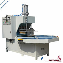 Automatic rotary style hf hand care products blister packaging machine