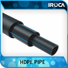 pe plastic water pipe for residential project
