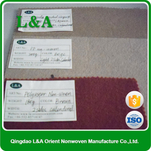 100% PP Nonwoven Color Needle Felt In Roll For Oversea Market