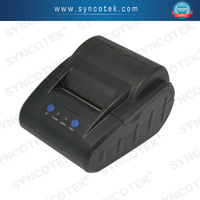 Kitchen used receipt printer,58mm thermal bluetooth printer support android tablets/smartphone