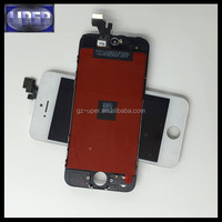 china gold supplier lcd screen digitizer for apple iphone 5g with warranty