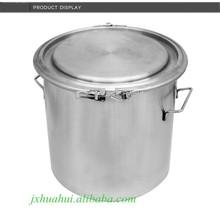 De aço inoxidável 304 316 selado barril barril de vinho leite tambor