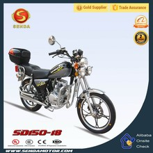 Stable Performance Cheap 150cc Gas Moped Chopper Motorcycle Style Bikes SD150-18