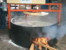 Effective gari frying machine, garri processing machinery