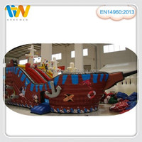giant inflatable pirate ship slide for sale