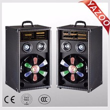 YAZOO SA-10 100W 10 inch cheap professional active speaker with leaser light