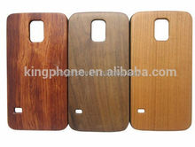 high quality promotion gift arts and craft PC wooden case for Samsung galaxy S5