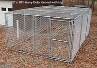 Dog kennels for sale cheap dog runs outdoor chain link fence dog kennels